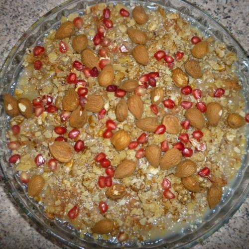 Κρέμα με Σιτάρι (anoush abour)