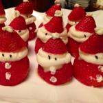 Χριστουγεννιάτικη Συνταγή με Φράουλες